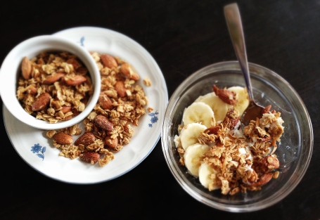 Maple Almond Cinnamon Granola